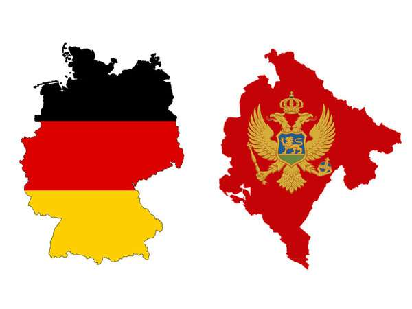 comparation beetwen germany and montenegro